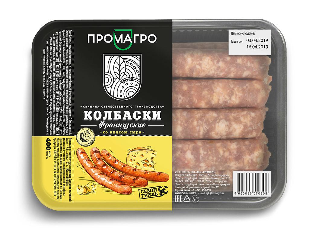 "Колбаски ""Французские"" - продукция АПХ «ПРОМАГРО»"