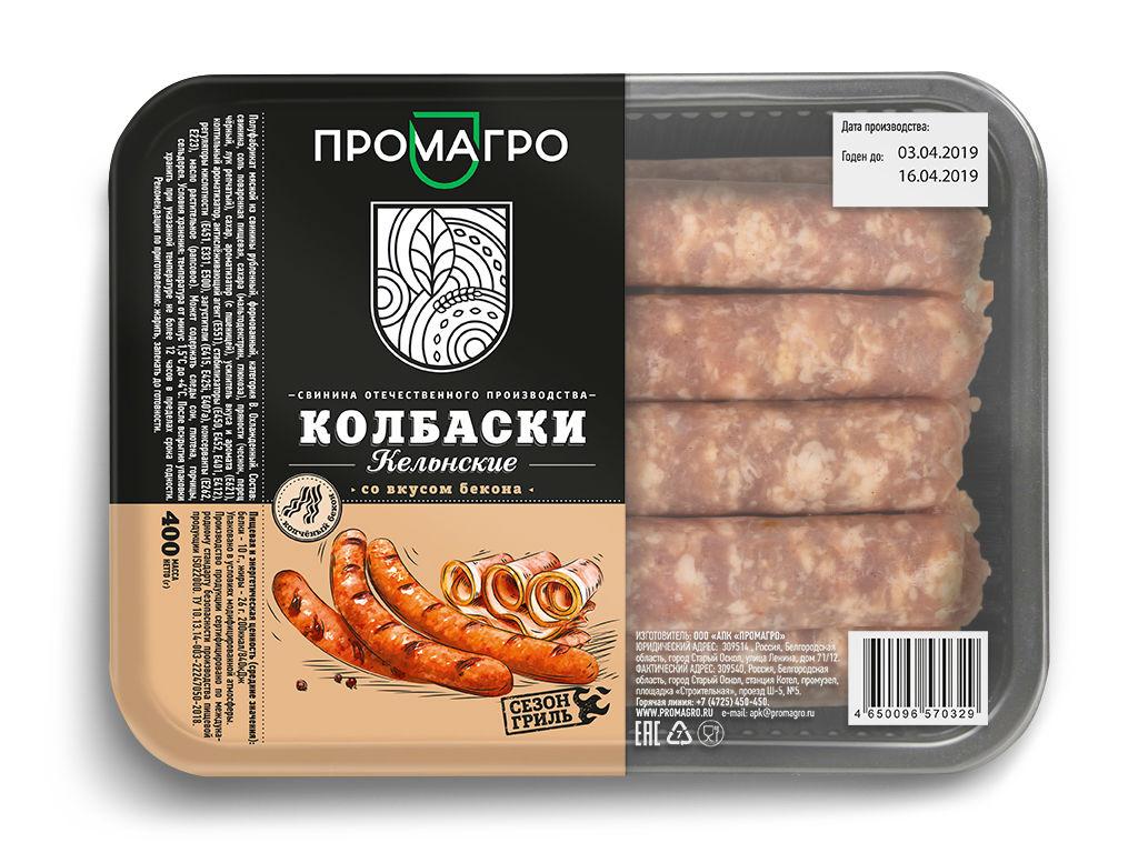 """Колбаски """"Кельнские"""" - продукция АПХ «ПРОМАГРО»"""